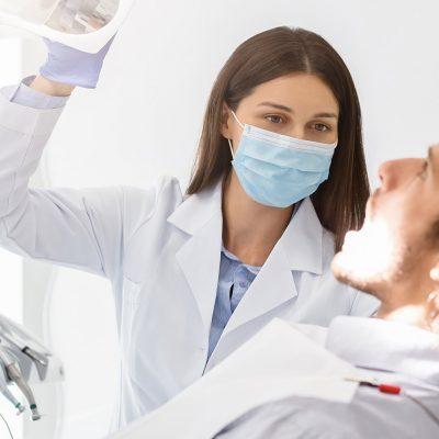 Dentist FaceMask Dental Visit